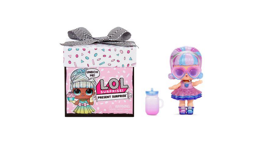 L.O.L. SURPRISE! - Present Surprise Puppe mit 8 Überraschungen