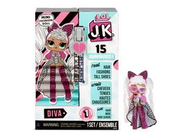 L O L SURPRISE J K Mini Fashion Doll Diva mit 15 Ueberraschungen