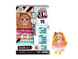 L O L SURPRISE J K Mini Fashion Doll Neon Q T mit 15 Ueberraschungen