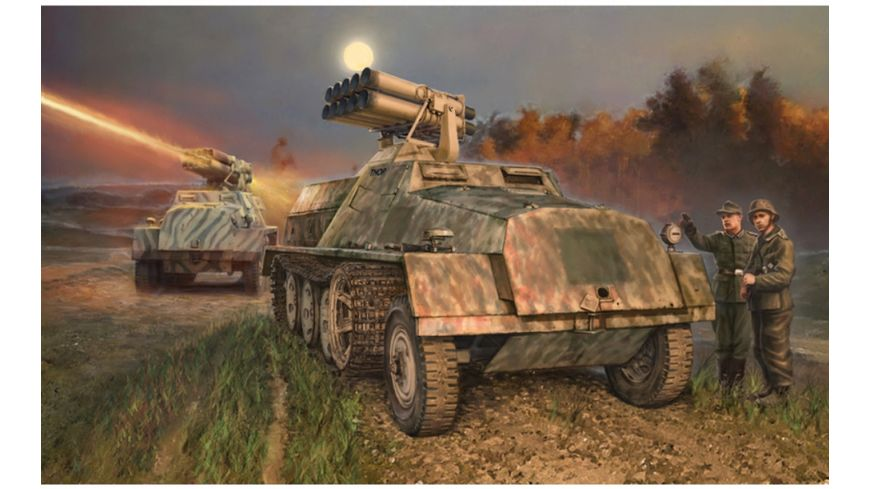 Italeri 510006562 - 1:35 15cm Panzerwerfer 42 auf SWS