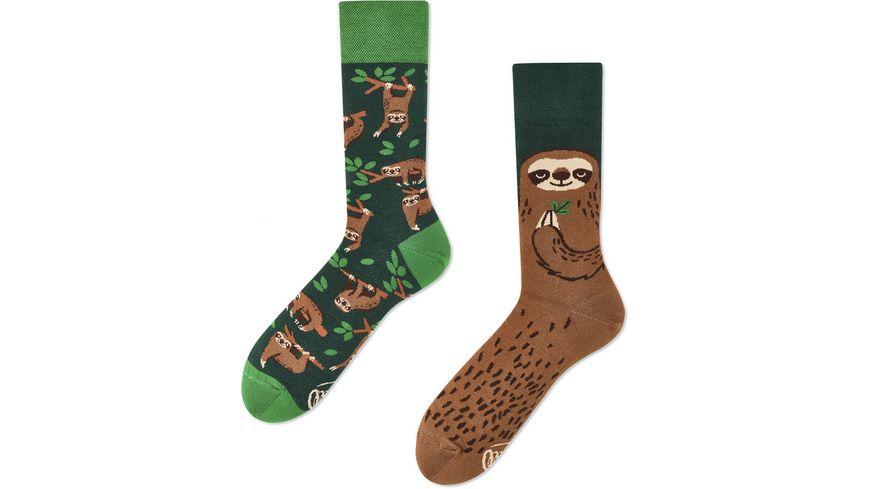 MANY MORNINGS Unisex Socken Sloth Life