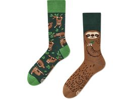 MANY MORNINGS Unisex Socken Sloth Life