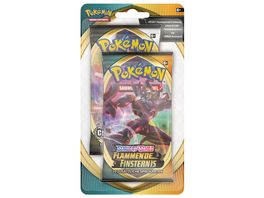 Pokemon Sammelkartenspiel Schwert Schild Flammende Finsternis 2 Pack Blister