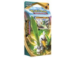 Pokemon Sammelkartenspiel Schwert Schild Flammende Finsternis Themendeck DE sortiert