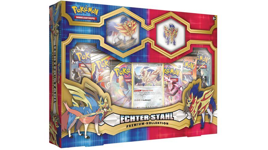 Pokemon Sammelkartenspiel Echter Stahl Premium Kollektion