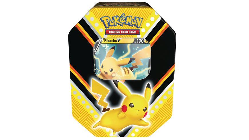 Pokemon Sammelkartenspiel Pokemon Tin 88 Pikachu V