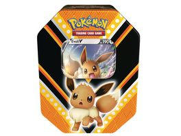 Pokemon Sammelkartenspiel Pokemon Tin 89 Evoli V