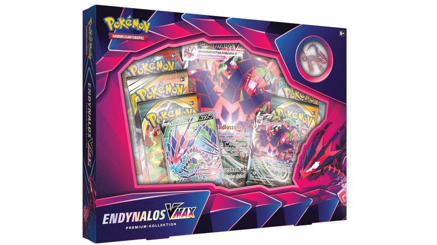 Pokemon Sammelkartenspiel Endynalos VMAX Premium Kollektion