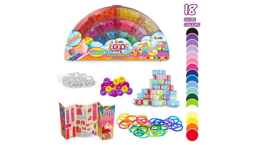 CRAZE - LOOPS Mega Rainbow