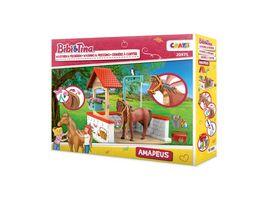 CRAZE Spielset Bibi Tina Washing Amadeus
