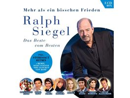 Ralph Siegel Mehr als ein bisschen Frieden