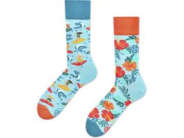 MANY MORNINGS Unisex Socken Aloha Vibes