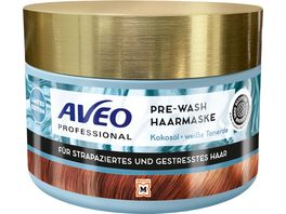 AVEO Professional Pre Wash Haarmaske Kokos Tonerde