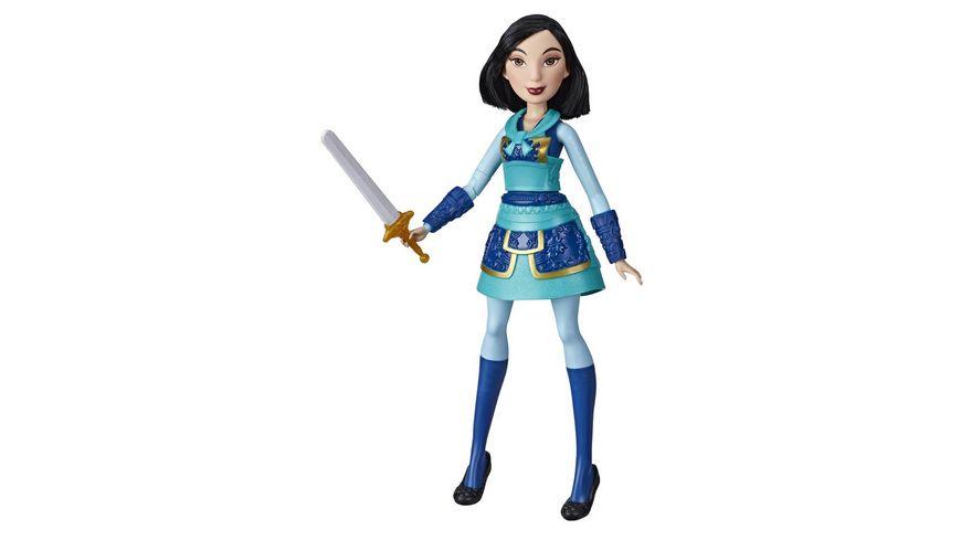 Hasbro - Disney Prinzessin Tapfere Kriegerin Mulan