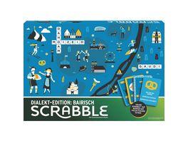 Mattel Games Scrabble Dialekt Edition Bayern Gesellschaftsspiel Familienspiel