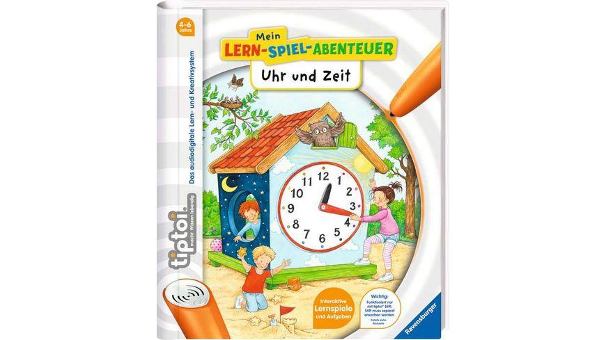 Ravensburger tiptoi Uhr und Zeit