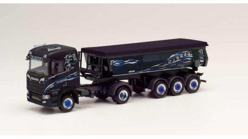 """Herpa 311991 - Scania CR 20 Rundmulden-Sattelzug """"Wagner Mitteleschenbach"""""""