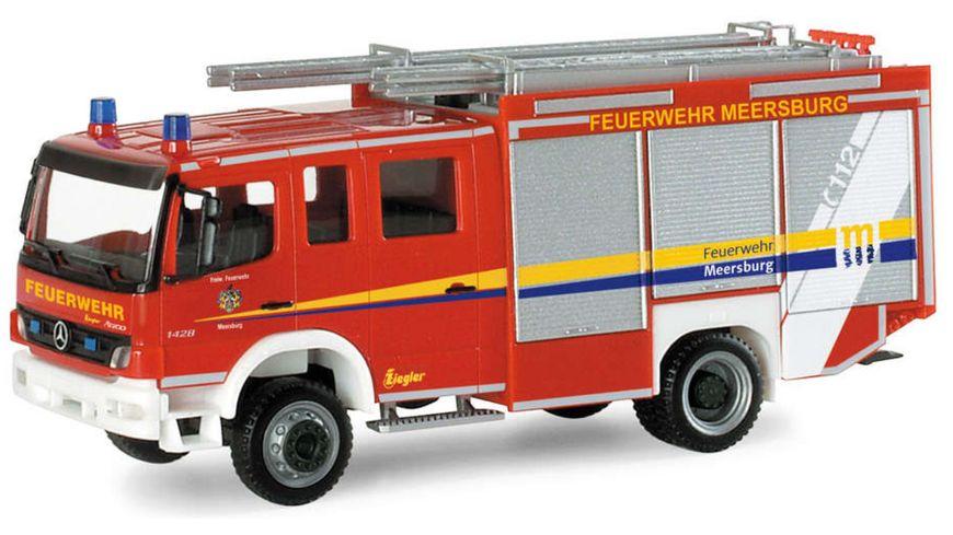 """Herpa 095365 - Mercedes-Benz Atego `04 Ziegler HLF 20/20 """"Freiwillige Feuerwehr Meersburg"""""""