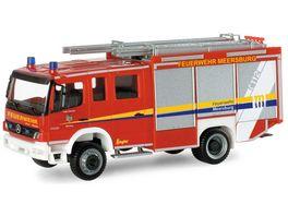 Herpa 095365 Mercedes Benz Atego 04 Ziegler HLF 20 20 Freiwillige Feuerwehr Meersburg