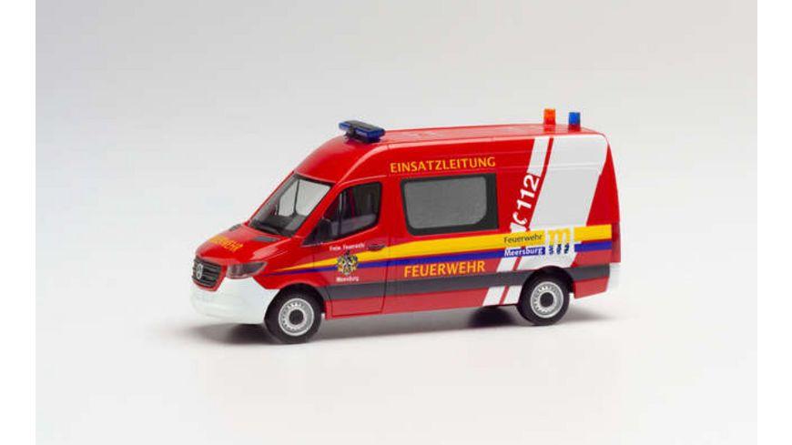"Herpa 095358 - Mercedes-Benz Sprinter `18 Kasten HD ""Freiwillige Feuerwehr Meersburg"""