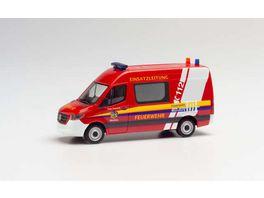 Herpa 095358 Mercedes Benz Sprinter 18 Kasten HD Freiwillige Feuerwehr Meersburg