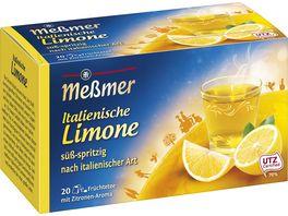 Messmer Laendertee Italienische Limone