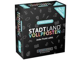 Denkriesen STADT LAND VOLLPFOSTEN Das Kartenspiel Junior Edition