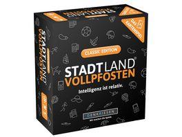 Denkriesen STADT LAND VOLLPFOSTEN Das Kartenspiel Classic Edition