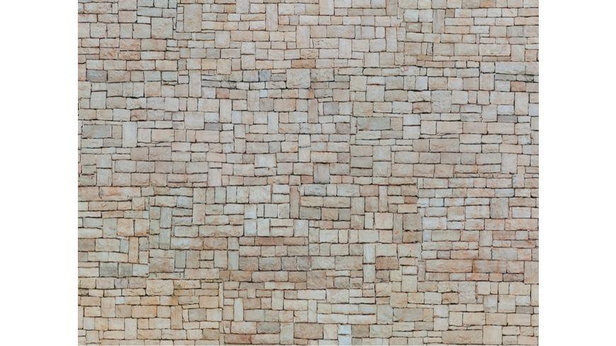 """NOCH 56642 H0 - 3D-Kartonplatte """"Kalksteinmauer"""""""