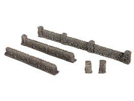 NOCH 58280 H0 Mauern aus Granit