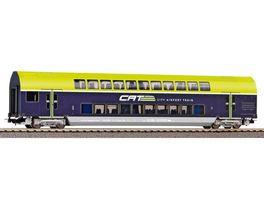 PIKO 58811 Doppelstockwagen 2 Klasse CAT OeBB VI
