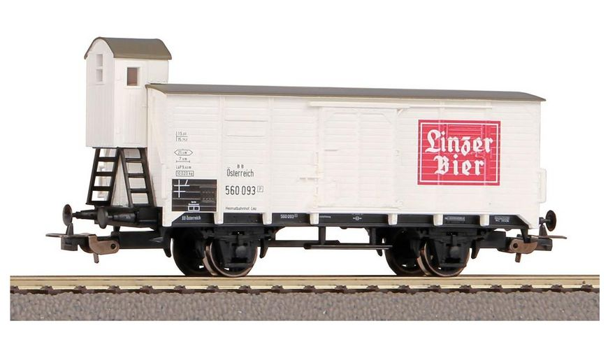 "PIKO 58947 - Gedeckter Güterwagen G02 ""Linzer Bier"" ÖBB III"