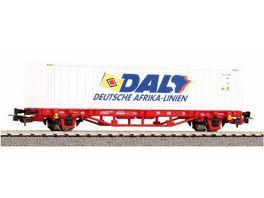 PIKO 58785 Containertragwagen DB AG VI DAL