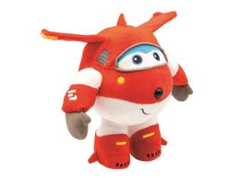 Joy Toy Super Wings Plueschfigur Jett 20 cm