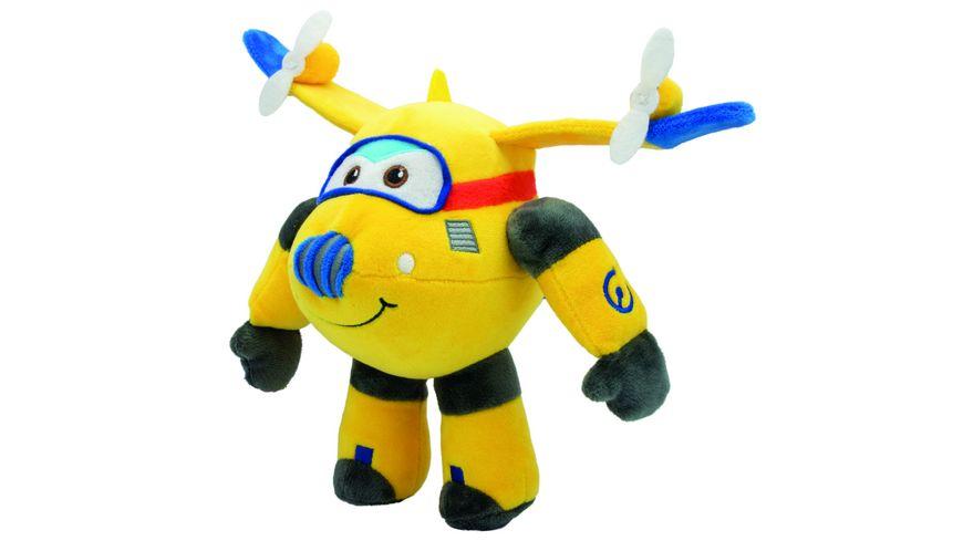 joy toy super wings plueschfigur donnie 20 cm
