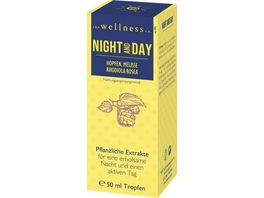 The Wellness Co Pflanzliche Extrakte Night and Day