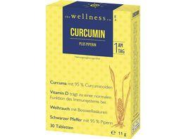 The Wellness Co Curcumin plus Piperin