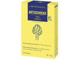 The Wellness Co Artischockecynarin Mariendistel