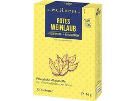 The Wellness Co rotes Weinlaub Buchweizen Rosskastanien