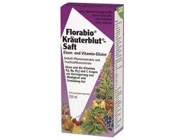 Florabio Kraeuterblut Saft