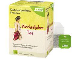 Salus Kraeutertee Spezialitaeten fuer die Frau Wechseljahre Tee