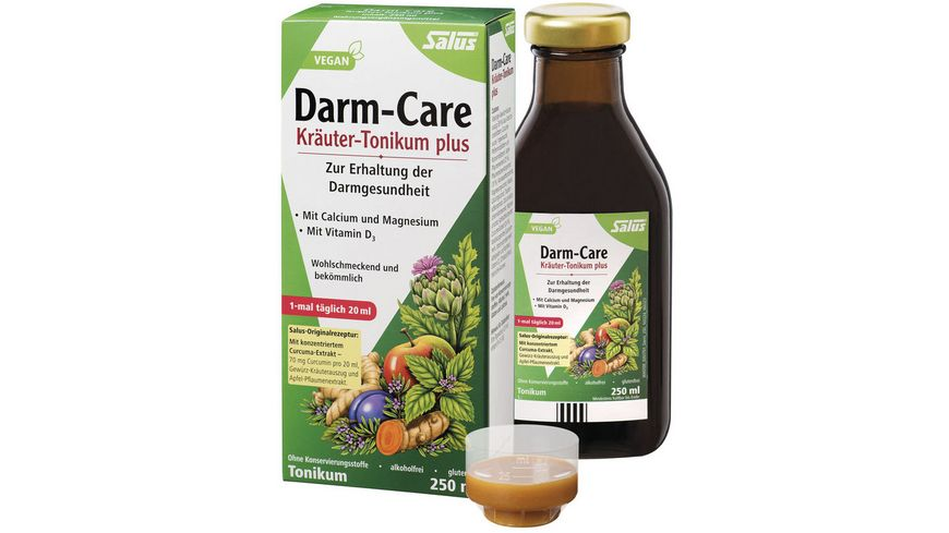 Salus Darm-Care Kräuter-Tonikum plus