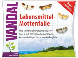 Vandal Lebensmittel Mottenfalle