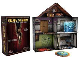 ThinkFun Escape the Room Das verfluchte Puppenhaus die Exit Erfahrung fuer zuhause Das Party Event nicht unbedingt fuer die jungen Familienmitglieder leichter Gruselfaktor inklusive