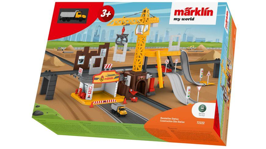 Maerklin 72222 Maerklin my world Baustellen Station
