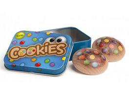 Erzi Cookies in der Dose