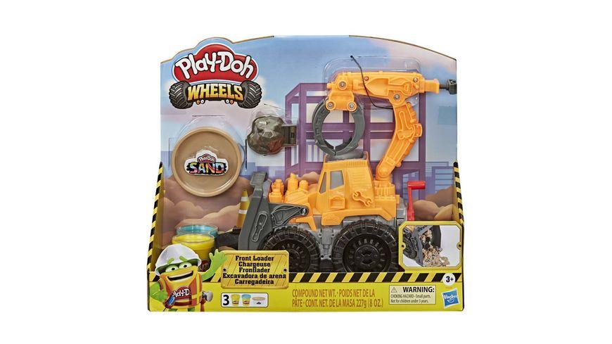 Hasbro Play Doh Wheels Frontlader