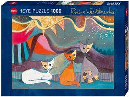 Heye Standardpuzzle 1000 Teile Yellow Ribbon Rosina Wachtmeister
