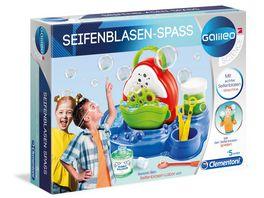 Clementoni Galileo Seifenblasen Spass