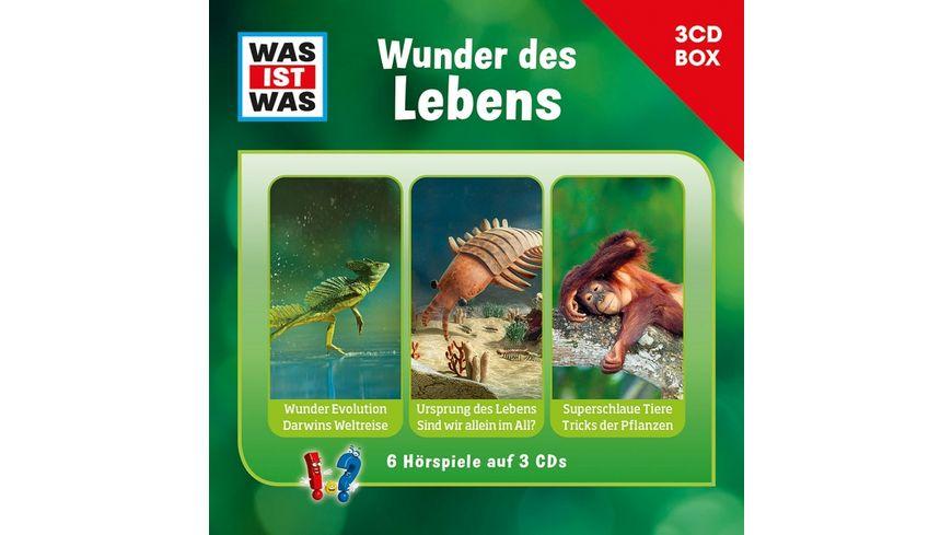 Was Ist Was 3-CD Hörspielbox Vol.10-Leben
